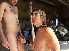 Naked mature Slave Whore