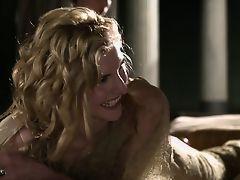 Spartacus: Viva Bianca getting a massage.