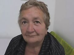 Fat Italian Grannie loves Anal and Cum