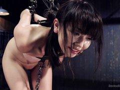 asian slave gets fingered