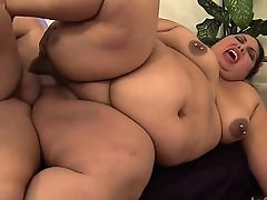 Fat and sexy latin BBW takes her guy's long and stiff cock